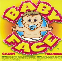 Baby-face candy